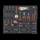 Наборы инструментов с поролоновыми вставками